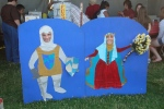 Sophia and Me at the Salem, Oregon BEAT Festival