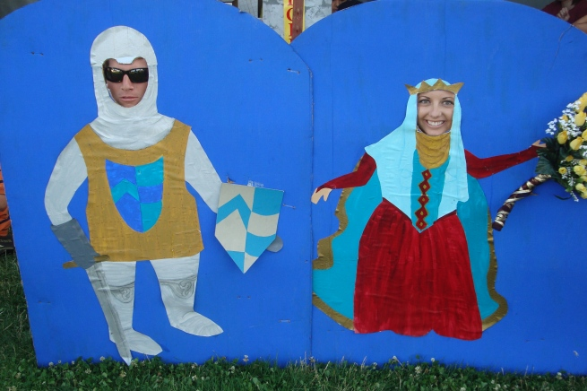 Ryan and Megan at the Salem, Oregon BEAT Festival