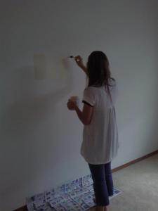 Sophia Testing Paint Coloros