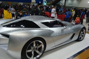 2009 Seattle Auto Show Corvette Stingray Concept