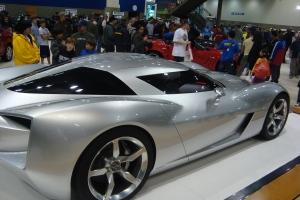 2009 Seattle Auto Show Corvette Stingray Concept