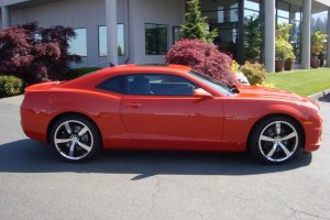2010 Chevrolet Camaro Orange Art gamblin Motors