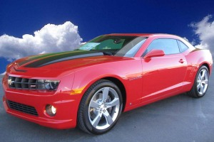 2010 Chevrolet Camaro Red Art Gamblin Motors