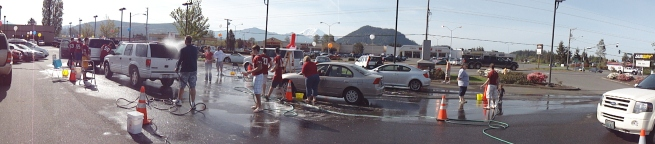 Enumclaw High School Football Car Wash 2010