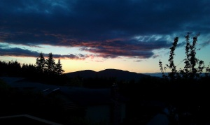Anacortes Washington Sunset
