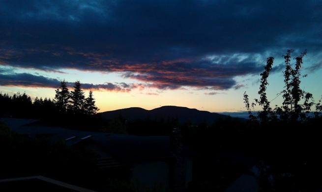 Anacortes Washington Sunset