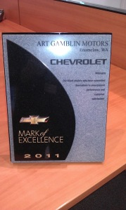 Mark of Excellence Award