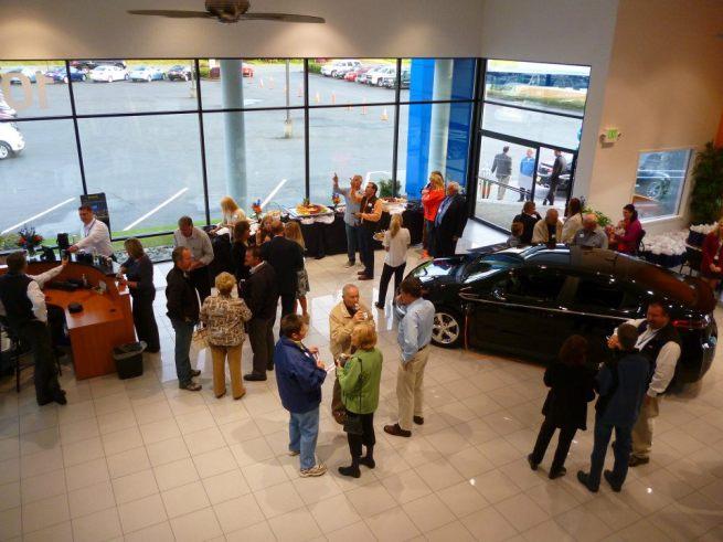 Gamblin Motors Showroom